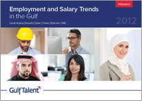 Employment and Salary Trends in the Gulf 2012